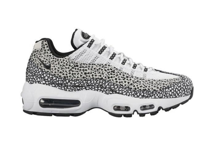 "Nike Revisits Its ""Safari"" Pack With the Air Max 95, Air Max 90 and Air Huarache Light"
