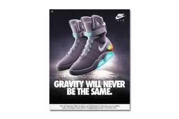 Modern Nike Shoes Reimagined in Vintage Ads