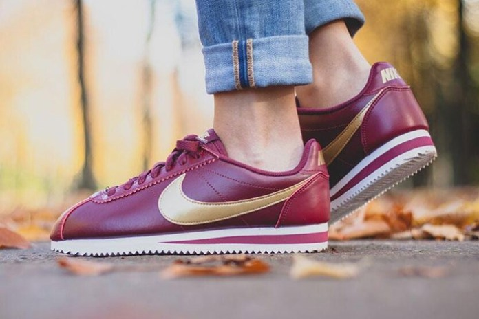 """Nike WMNS Classic Cortez Leather """"Team Red"""""""