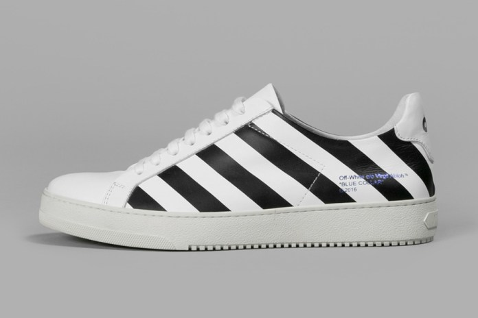 "OFF-WHITE c/o VIRGIL ABLOH ""Blue Collar"" Diamonds Sneaker Collection"