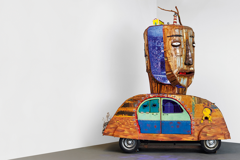Os Gemeos Reworks a Volkswagen Beetle for Art Basel
