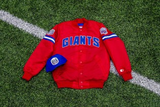 Packer Shoes x Starter New York Giants 25th Anniversary Pack
