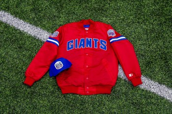 Packer Shoes x Starter New York Giants 25th Anniversary Pack