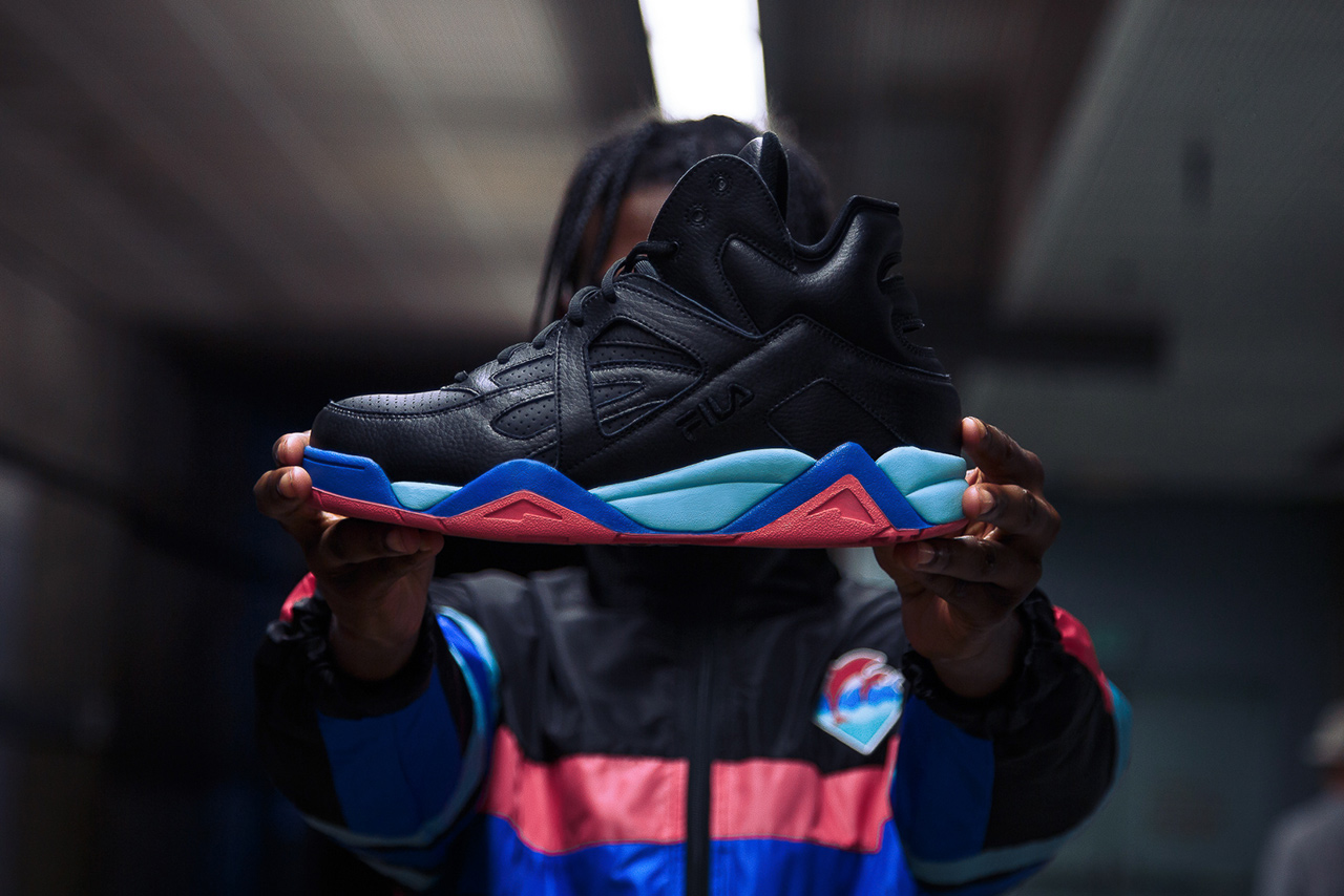 """Pink Dolphin x FILA Vintage Cage """"Round Two"""" & Apparel Pack"""