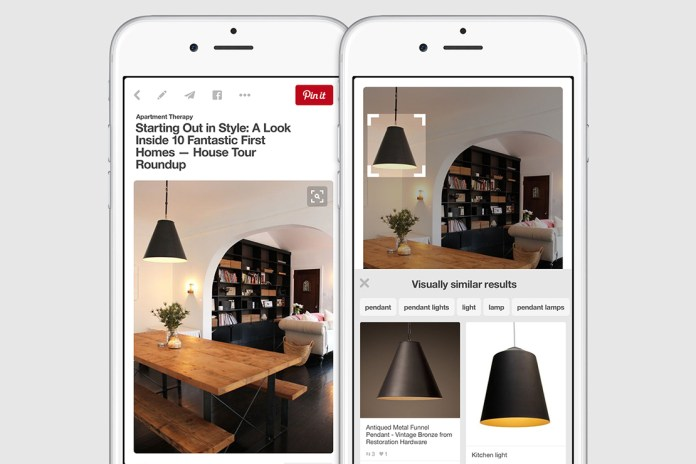 Pinterest Introduces New Visual Search Tool
