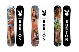 Playboy x Burton 2015 Winter Process Snowboard Collection
