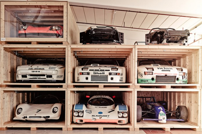 The Porsche Museum in Stuttgart Hides a Hidden Warehouse of Automotive Holy Grails