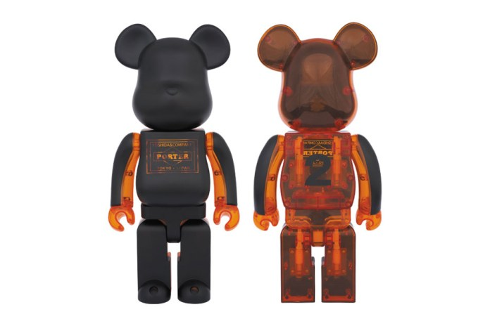 "Porter x Medicom Toy 400% ""Skeleton"" Bearbrick"