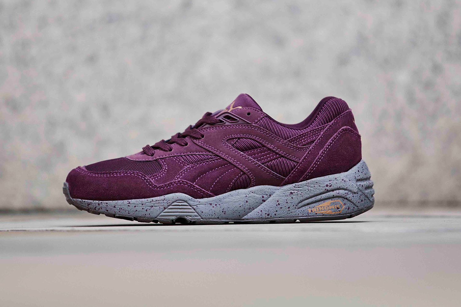 "PUMA R698 Winterized ""Burgundy"""