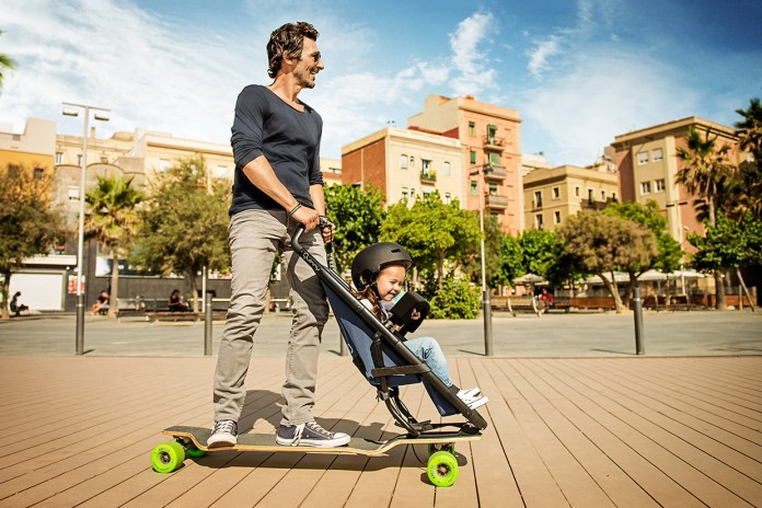 The Quinny Longboardstroller Is the Pram That Every Parent Wants