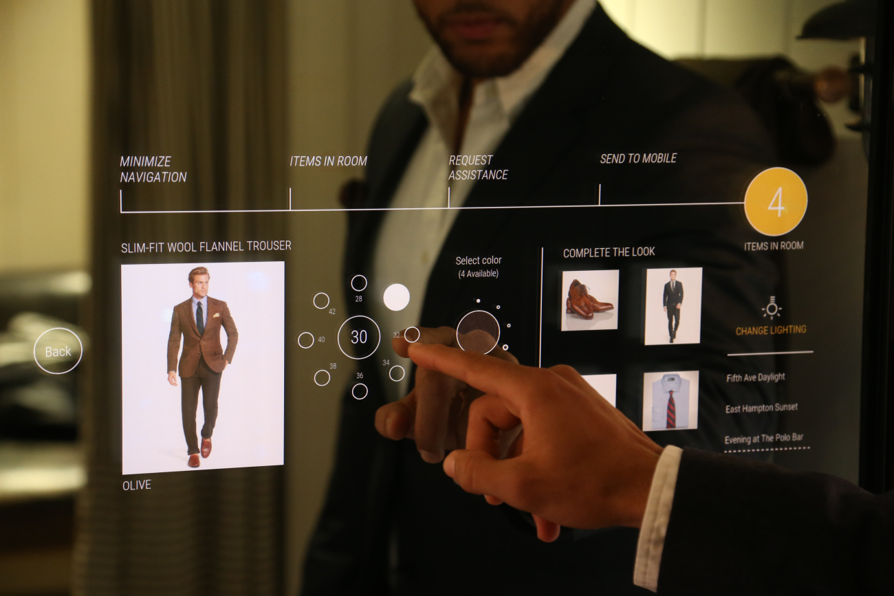 Ralph Lauren Unveils Interactive Fitting Rooms