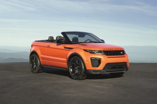A Closer Look at the Range Rover Evoque Convertible
