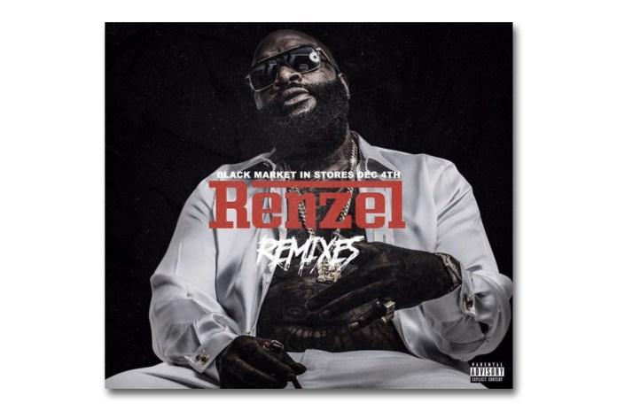 """Rick Ross Releases """"Renzel Remixes"""" Mixtape"""
