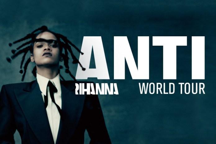 Rihanna Announces 2016 World Tour With Travi$ Scott, The Weeknd and Big Sean