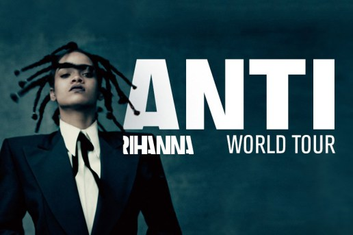 Rihanna Announces 2016 World Tour With Travi$ Scott, The Weeknd and Big Sean