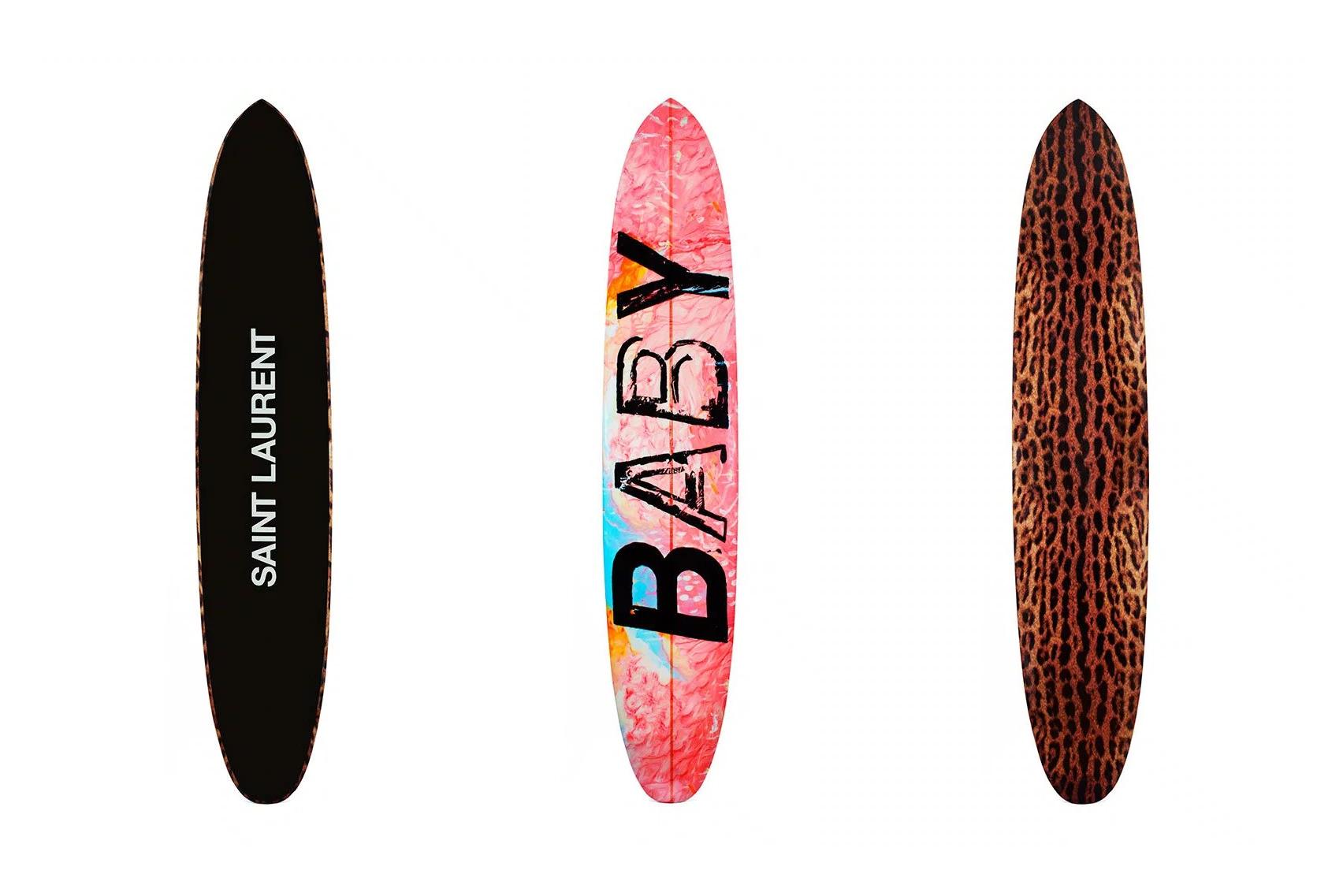 saint laurent surf and skateboards hypebeast. Black Bedroom Furniture Sets. Home Design Ideas