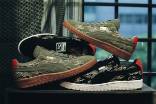 "SBTG x mita sneakers x PUMA Clyde contact ""First Contact"" Pack"