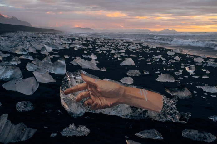 Sean Yoro Paints Murals Onto Icebergs
