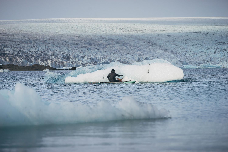 Artist Who Paints Icebergs