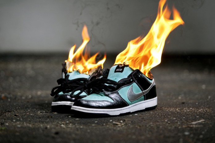 What Happens After Your Entire Sneaker Collection Goes up in Flames