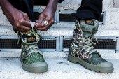 SSUR*PLUS x Palladium Camouflage Boots