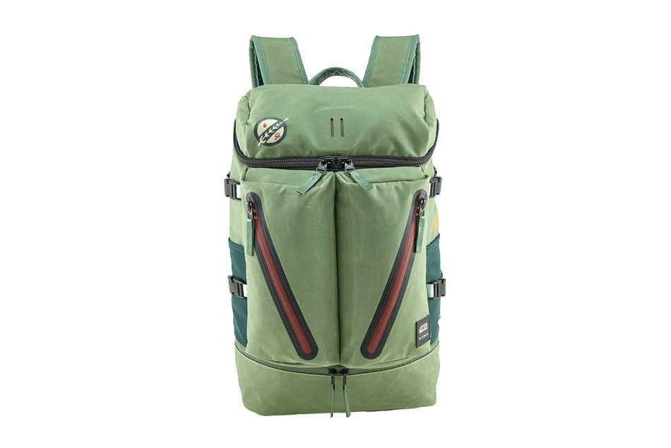 This 'Star Wars' x Nixon Boba Fett A-10 Backpack Is the Closest You'll Get to a Jetpack