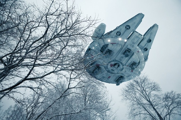 'Star Wars' Ships Make Their Way to Earth