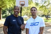 Steph and Dell Curry Play a Father-Son Game of H-O-R-S-E