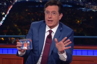 Stephen Colbert Critiques the Ridiculous Marketing of 'Star Wars: The Force Awakens'