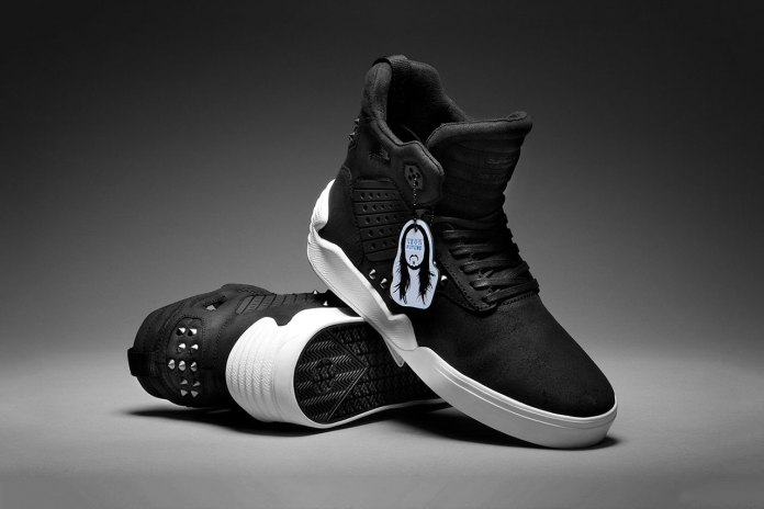 SUPRA Taps World Famous DJ Steve Aoki for a Limited Edition Skytop IV