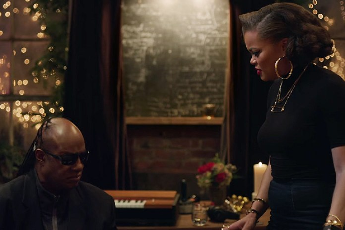 Stevie Wonder and Andra Day Celebrate the Holidays With Apple