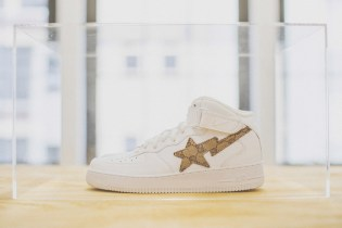 "Custom Nike Air Force 1 High ""Street Sweepers"" by Heron Preston"