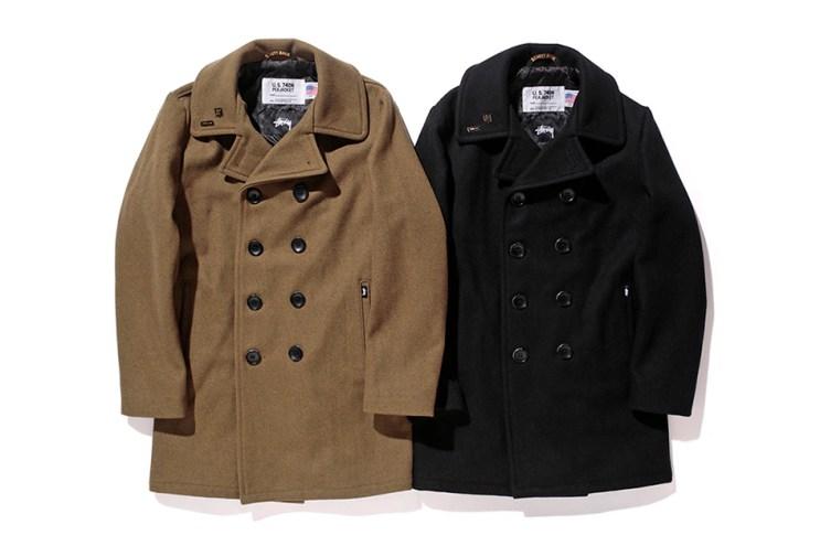 Stussy x Schott NYC 2015 Fall/Winter Officer Coat