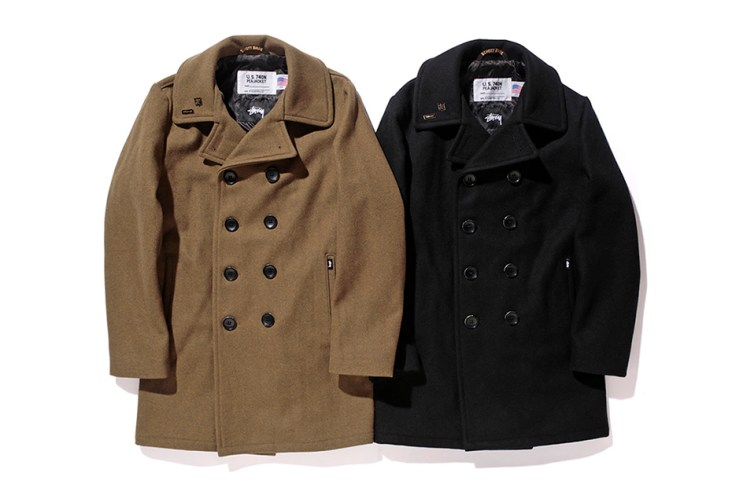 Stussy x Schott NYC 2015 Fall/Winter Officer Coat