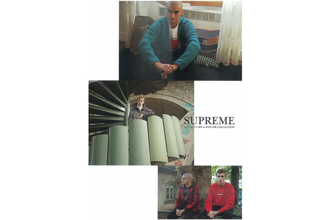 Supreme 2015 Fall/Winter Editorial by Gosha Rubchinskiy for 'GRIND' Magazine