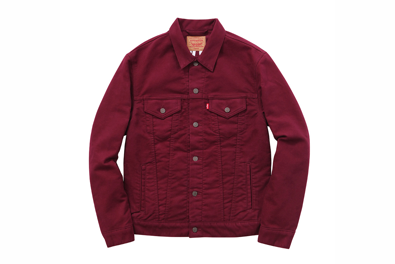 Supreme x Levi's 2015 Fall/Winter Collection