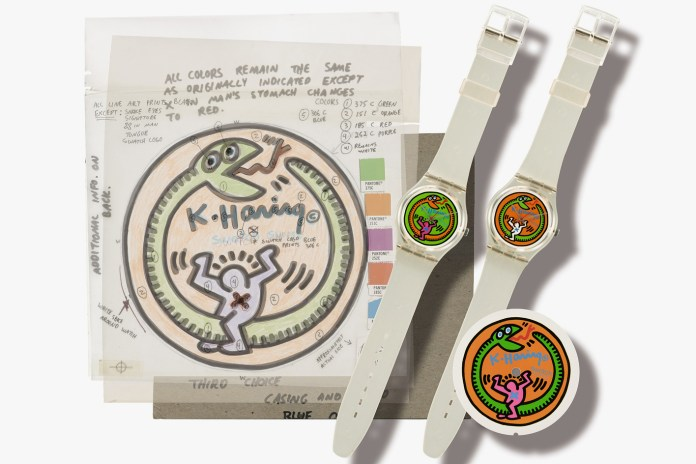 Two Swatch Designers' Collection Sold for $1.3 Million USD at Sotheby's Geneva