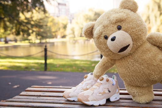 "BAIT x 'Ted 2' x Reebok Instapump Fury ""Happy Ted"""