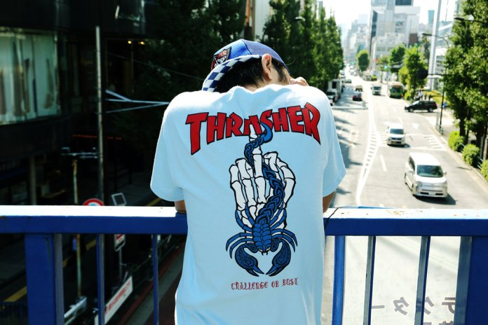 Thrasher x Challenger Capsule Collection