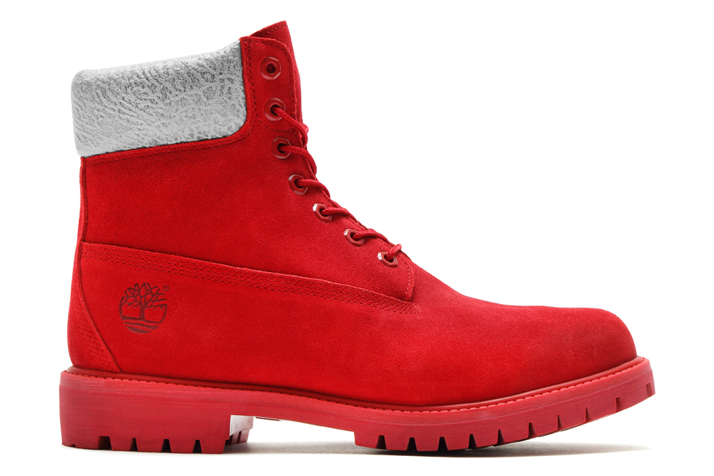 """Kinetics x Timberland 6"""" Boot """"Red Suede"""""""