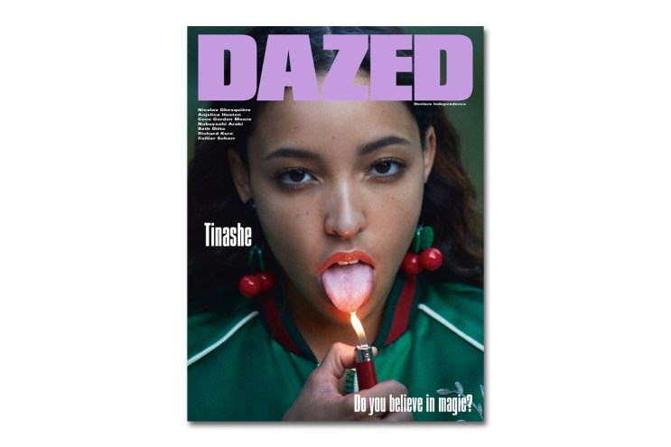 Tinashe Covers the 2015 Winter Issue of DAZED Magazine