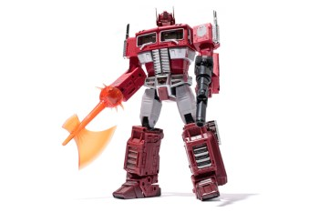 Transformers x A Bathing Ape MP-10R MASTERPIECE CONVOY Red Camo Version