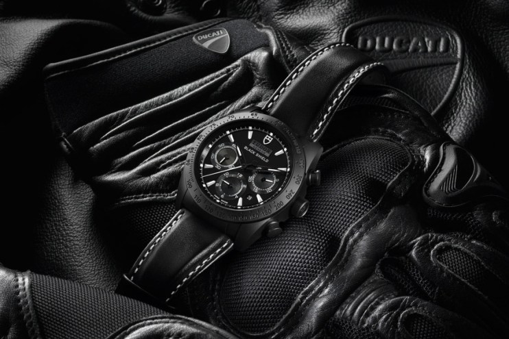 TUDOR Unveils the Ducati XDiavel-Inspired Fastrider Black Shield