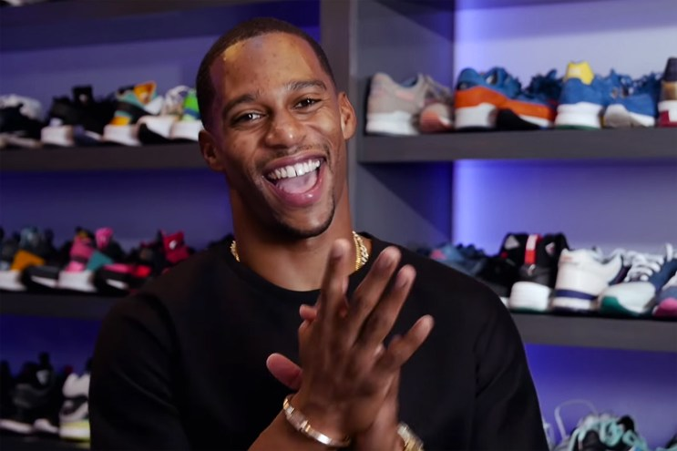 An Inside Look at New York Giants' Victor Cruz's Sneaker Closet