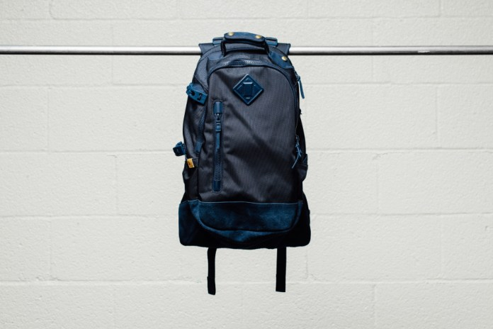 visvim 2015 Fall/Winter 20L Ballistic Backpacks Featuring Cow Suede