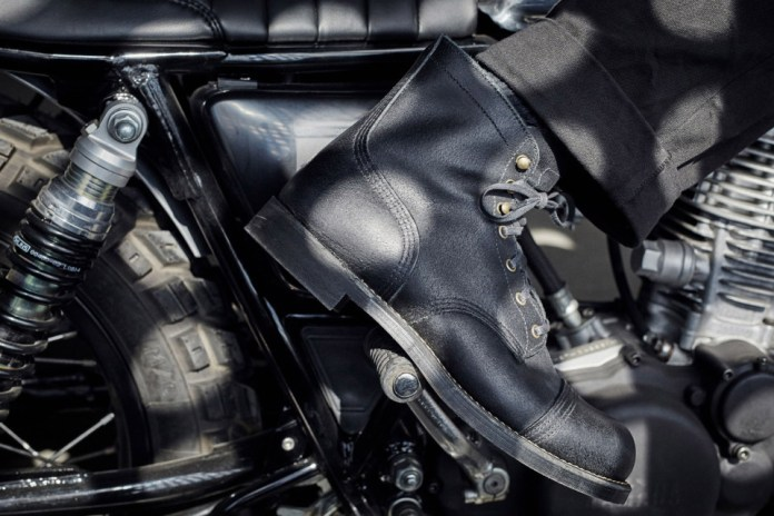 Wrenchmonkees x Red Wing Heritage Iron Ranger No. 4545 Boot