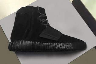 A First Look at the All-Black Yeezy Boost 750