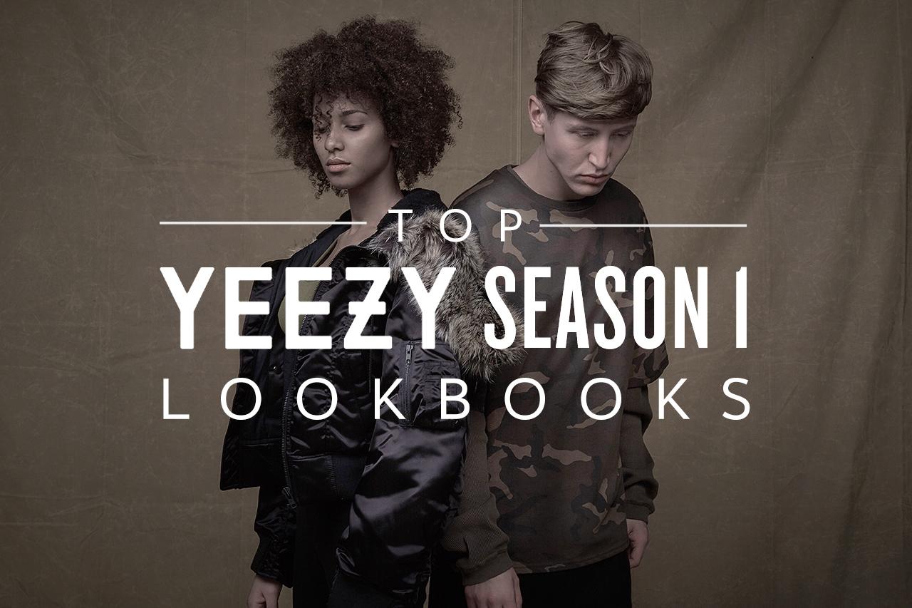 Top 5 Yeezy Season 1 Lookbooks by Streetwear Retailers