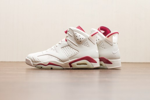 "A Closer Look at the Air Jordan 6 Retro ""Maroon"""