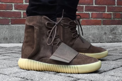 """A First Look at the Yeezy Boost 750 """"Brown"""""""